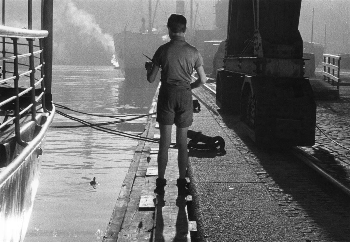 Människor i stad (1947). Bild: SF Studios/Studio S.