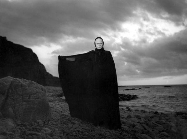 Bengt Ekerot i rollen som Döden i Det sjunde inseglet.