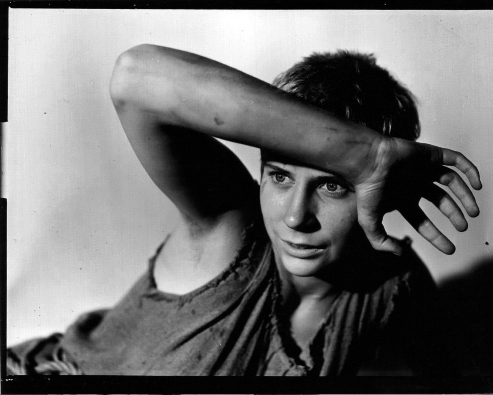 Maud Hansson i Det sjunde inseglet (1957).