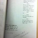 Vic Sunesons manuskript till I dimma dold.